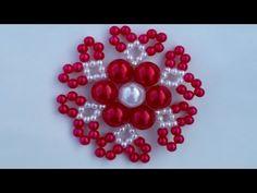 Stormduo Pinwheel Pendant Or Earrings - - Diy Crafts - maallure Beaded Flowers Patterns, Beaded Jewelry Patterns, Fabric Jewelry, Beading Patterns, Diy Crafts Keychain, Crochet Flower Tutorial, Beaded Boxes, Beaded Christmas Ornaments, Etsy Crafts