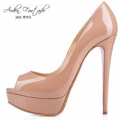 Chaussure carrée d'automne/chaussures de rivet de dames/chaussures de talon moyen-B Longueur du pied=23.3CM(9.2Inch) QgrLtz