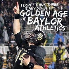 """""""I don't think there is any doubt this is the golden age of Baylor athletics."""" - Baylor athletic director Ian McCaw"""