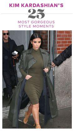 Kim Kardashian's 25 Most Gorgeous Style Moments