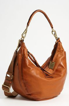 If I wasn't currently carrying around a diaper bag, I would purchase this...Frye 'Jenny' Leather Hobo available at #Nordstrom