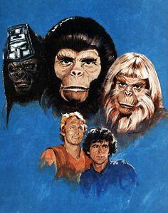 La Planète des singes (1974), série regrettée, disparue au bout de 14 épisodes