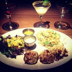 Maryland Crab Cakes |  Photo by Instagram User claudialoya {Seasonal Specials Menu 2013} #houlihans #SoEatingThis