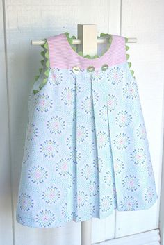 "Children's Corner ""Mallory"" - - Children's Corner ""Mallory"" Tecidos Kinderecke ""Mallory"" Little Dresses, Little Girl Dresses, Girls Dresses, Baby Dresses, Peasant Dresses, Dress Girl, Pillowcase Dresses, Barbie Dress, Toddler Dress"