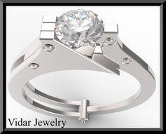 Handschellen-Verlobungsring