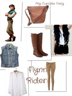 Flynn Rider Disney Inspired Outfits by Me