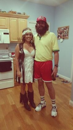 Forrest Gump & Jenny halloween costume