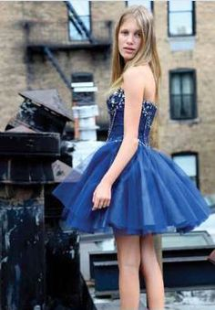 Sherri Hill Bat Mitzvah dress.