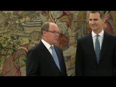 Su Majestad el Rey se reunió con Su Alteza Serenísima el Príncipe Alberto II de Mónaco, con ocasión de su viaje a España para asistir a la presentación de l...