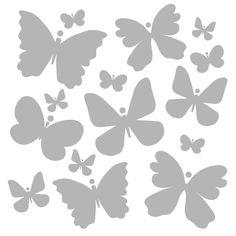 """6"""" x 6"""" Art Stencil - Butterfly Flutter"""