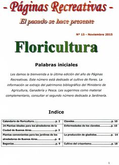 9 Best Horticultura Images On Pinterest Horticulture Fonts And