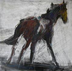 Winter Horse, Arabian Art, Bug Art, Horse Wall Art, Horse Drawings, Horse Sculpture, Horse Print, Equine Art, Pastel Art