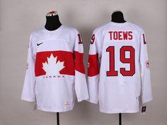 NHL Winter Olympics Canada Hockey Jerseys 41