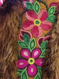 Beadwork by Judy Lafferty, NWT. Just amazing! Native Beading Patterns, Bead Embroidery Patterns, Beadwork Designs, Seed Bead Patterns, Beaded Embroidery, Indian Beadwork, Native Beadwork, Native American Beadwork, Art Perle