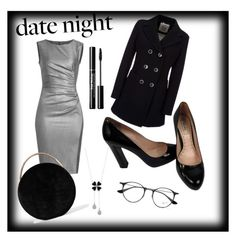 """date night"" by vikisik123 ❤ liked on Polyvore featuring MaxMara, Geox, Miu Miu, Eddie Borgo and Ray-Ban"