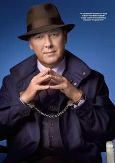 "The Blacklist...James Todd Spader as Raymond ""Red"" Reddington."
