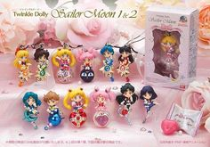 Sailor Moon Twinkle Dolly Set 1 & 2