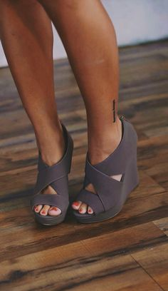 Cute wedges that actually seem comfy