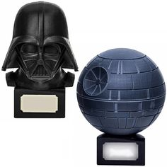 Star Wars Darth Vader & Death Star Urns Darth Vader Death, Star Wars Darth, Star Wars Decor, Star Wars Gifts, Death Star, Dark Side, Fangirl, Geek Stuff, Nerdy Things
