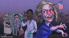 La ira de la bruja se convierte en una contrarrevolución clintoniana.