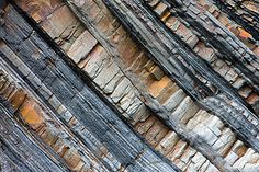 Rock strata cornwall