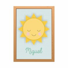 Pôster sol personalizado