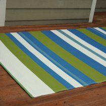 Seaside Stripe Outdoor Rug - 5 x 8 ft.