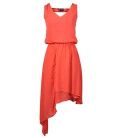 Vestido Corto Casual - Vestido Corto Casual Composición:100%Poliester, Forro: 100%Poliester  Ref. SRA-3036