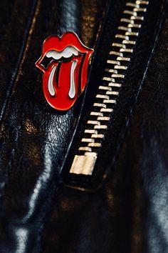 The Rolling Stones - Enamel Pin Badge - Stones Tongue - Mick Jagger - Keith Richards