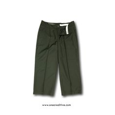ONECREDITIVE WIDE PANTS 15SS