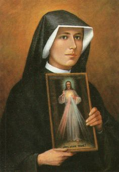 Divina Misericórdia - Divine Mercy  / Saint Faustina and the Image of Jesus, Divine Mercy