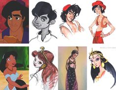 Disney Concept Art (or What Could Have Been)