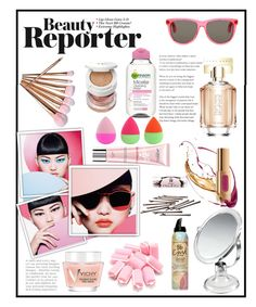 """""""BEAUTY REPORTER!!!"""" by kskafida ❤ liked on Polyvore featuring beauty, HUGO, L'Oréal Paris, Vichy, Tom Ford, Yves Saint Laurent, Axel, Garnier, Bumble and bumble and L. Erickson"""