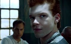 Jerome: I got in Arkham for the fourth time. I held up a bank for my fiancé and got put in Arkham.