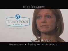 Triad Foot Center - Susie's Story. Susie is a very active person, but with foot pain, she had a hard time with her mobility. Her goals to remain active sent her to Triad Foot Center, where she worked with the professional staff to ensure she could stay on her feet for many years to come. Triad Foot Center has been providing quality foot care for over 35 years. Take the first step to healthier feet at Triad Foot Center! www.TriadFoot.com #TriadFootEducates