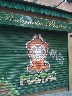 En la calle - relojería