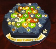 I'm not the only person who loves Settlers of Catan enough to turn a boardgame obsession into party food. Check out these gorgeous Settlers of Catan cakes. When Geeks Wed featured this amazing Sett...