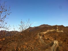 The Great Wall of China. Winter is waining, spring is around the corner. Beijing, China (February 2012)