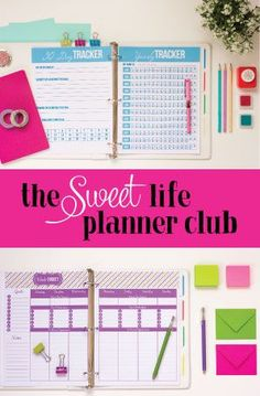 Sweet Life Planner Club - Join in on the organization fun today!