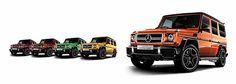 メルセデス・ベンツ、「Gクラス」に限定50台の特別仕様車「メルセデスAMG G 63 CrazyColor Limited」 - Car Watch