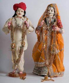 Indian Wedding Dolls...
