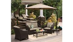 Target Home™ Belvedere Wicker Patio Conversation Furniture Collection -Tan.Opens in a new window.