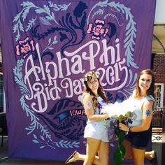 purple banner bliss :)