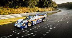 Nürburgring record-hunters at dawn: Porsche 956 and 918 Spyder | Classic Driver Magazine