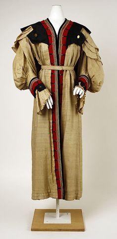 Coat  G. Wildes Smith of Boston (American)  Date: 1901–4 Culture: American Medium: silk