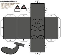 CLICK ON THIS PICTURE TO OPEN TEMPLATE. Then Save the Template to Your ... See more cat toys idea at - Catsincare.com
