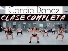CARDIO DANCE / CLASE COMPLETA PARA BAJAR DE PESO Y TONIFICAR - YouTube Youtube Workout, Fitness Tips, Zumba Fitness, Academia, Pilates, Yoga, Gym, Cardio Dance, Dance Exercise