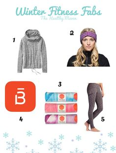 Winter Fitness Fabs from The Healthy Maven.