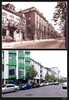 Kaiserslautern einst und heute - Eisenbahnstraße