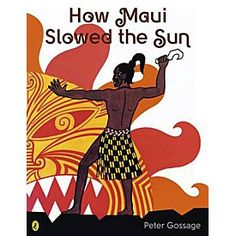 Faced with too short days and long nights Maui comes up with a plan to slow the sun's passage through the sky. With the help of his brothers, Maui sets out for the home of the sun to catch it and make it move more slowly. Lessons For Kids, Art Lessons, Maori Legends, Waitangi Day, Maori Patterns, Sun Illustration, Maori Designs, Hawaiian Art, Art Calendar